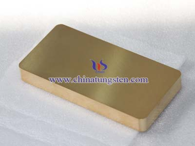 Gold-plated Tungsten Picture
